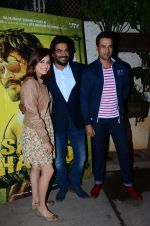 Madhavan, Rohit Roy at Saala Khadoos screening on 22nd Jan 2016