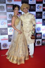 Nisha Rawal, Karan Mehra at Lions Awards 2016 on 22nd Jan 2016 (146)_56a38b618a924.JPG