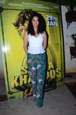 Ritika Singh at Saala Khadoos screening on 22nd Jan 2016