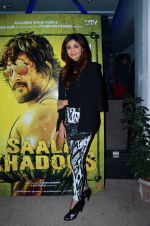 Shilpa Shetty at Saala Khadoos screening on 22nd Jan 2016