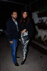 Shilpa Shetty, Raj Kundra at Saala Khadoos screening on 22nd Jan 2016