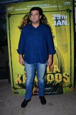 Siddharth Roy Kapur at Saala Khadoos screening on 22nd Jan 2016