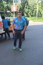 Sohail Khan snapped at airport on 22nd Jan 2016 (70)_56a374ce766c1.JPG