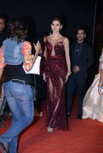 Urvashi came and went back on the red carpet to adjust her falling dress twice at Star Screen Awards 2016