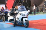 Varun enters the show on his fabulous bike at Star Screen Awards 2016