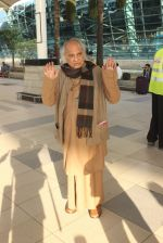 Pandit Jasraj snapped at airport on 23rd Jan 2016