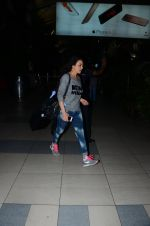 Preity Zinta snapped at airport on 23rd Jan 2016