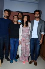 Sarah Jane Dias, Vicky Kaushal at Zubaan film promotions on 23rd Jan 2016