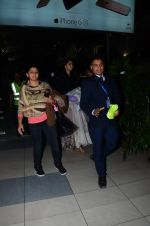 Sonam Kapoor snapped at airport on 23rd Jan 2016