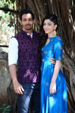 Harshvardhan Rane, Mawra Hocane at Sanam Teri Kasam promotions on 24th Jan 2016 (25)_56a5d163867fe.JPG