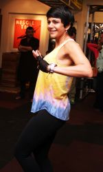 Madira Bedi shares her fitness mantra at Muscle Talk Gym in Chembur on 24th Jan 2016