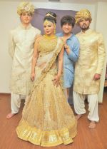 Rakhi Sawant with Rohit Verma and Avadhoot Nichkawde