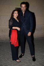 Rohit Roy, Manasi Joshi Roy at Subhash Ghai 71st Bday celebrations in Whistling Woods on 24th Jan 2016