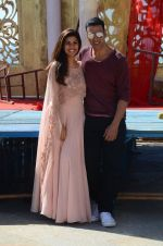 Akshay Kumar, Nimrat Kaur at Airlift Media Interviews on success of the film at Sun-n- Sand Juhu on 25th Jan 2016