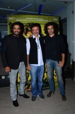 Madhavan, rajkumar Hirani, Imtiaz Ali at Saala Khadoos screening on 26th Jan 2016