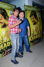 Rishi Kapoor at Saala Khadoos screening on 26th Jan 2016