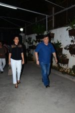 Rishi Kapoor, Neetu Singh at Saala Khadoos screening on 26th Jan 2016
