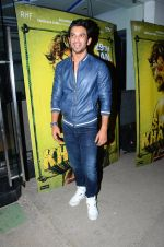 Sushant Singh Rajput at Saala Khadoos screening on 26th Jan 2016