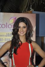 Mukti Mohan at Khatron Ke Khiladi meet on 27th Jan 2016 (5)_56a9bdc555d63.JPG
