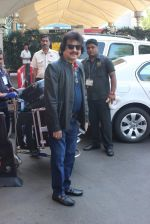 Pankaj Udhas snapped at airport  on 27th Jan 2016
