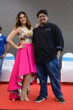 Sunny Leone promotes Mastizaade with Lawman jeans on 27th Jan 2016