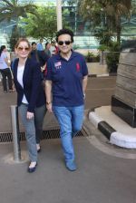 Adnan Sami snapped at airport  on 28th Jan 2016