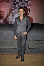 Manoj Bajpai at the launch of film Aligargh on 28th Jan 2016