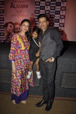 Manoj Bajpai, Neha at the launch of film Aligargh on 28th Jan 2016 (29)_56ab10a7891d0.JPG