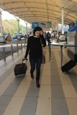Prachi Desai snapped at airport  on 28th Jan 2016