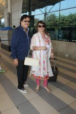Sanjay Khan, Zarine Khan snapped at airport  on 28th Jan 2016