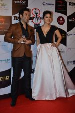 Sunny Leone, Tusshar Kapoor at Top Gear Awards in Mumbai on 28th Jan 2016