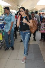 Adah Sharma snapped at airport  on 29th Jan 2016