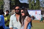 Athiya Shetty, Sunil Shetty at Pitch Blue