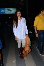 Daisy Shah snapped at airport  on 29th Jan 2016