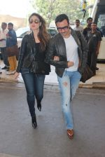 Kareena Kapoor, Saif Ali KHan snapped at airport  on 29th Jan 2016  (35)_56acb0014d78e.JPG