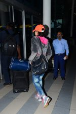 Preity Zinta snapped at airport  on 29th Jan 2016