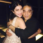 Shruti Haasan hosted a private party on her birthday in Chennai for her family and friends on 30th Jan 2016