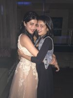 Shruti Haasan hosted a private party on her birthday in Chennai for her family and friends on 30th Jan 2016 (7)_56acb2d617817.JPG