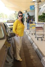 Kainaat Arora snapped at airport  on 30th Jan 2016