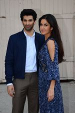 Katrina Kaif, Aditya Roy Kapur snapped at Mehboob studio on 30th Jan 2016