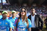 Zarine Khan at Mumbai Heroes Vs Bengal Tigers CCL Match on 30th Jan 2016
