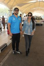 Aftab Shivdasani snapped at Airport on 31st Jan 2016