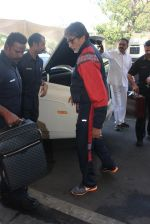 Amitabh Bachchan snapped at Airport on 31st Jan 2016