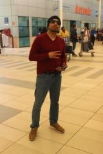 Mika Singh snapped at Airport on 31st Jan 2016