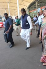 Amitabh Bachchan snapped at airport on 1st Feb 2016