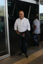 Anupam Kher snapped at airport on 1st Feb 2016