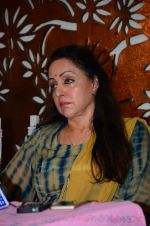 Hema Malini meets press on plot allotment issue on 1st Feb 2016 (34)_56b05ae13011d.JPG