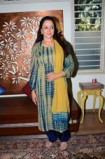 Hema Malini meets press on plot allotment issue on 1st Feb 2016 (44)_56b05ae899b88.JPG