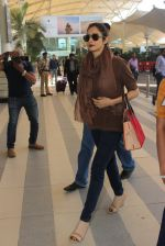 Sridevi snapped at airport on 1st Feb 2016