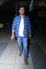 Randeep Hooda  snapped as they return from Delhi on 2nd Feb 2016